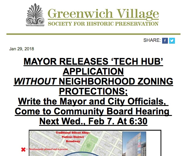 Demand Zoning Protections from Borough President Brewer