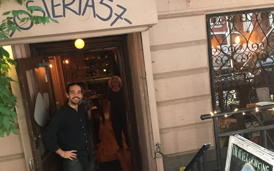 N2N Dinner Group Report: Osteria57