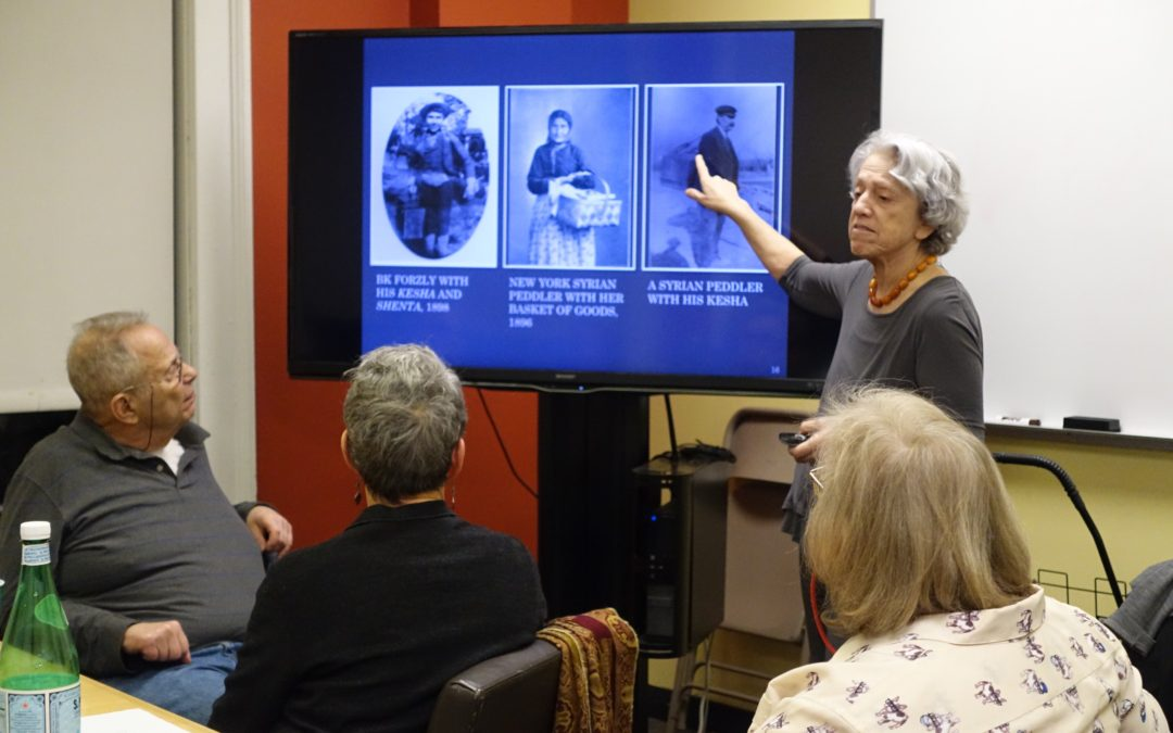 The Syrian Colony of NYC presented by Linda K. Jacobs