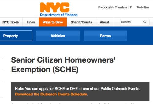Are You Taking Advantage of the Senior Citizen Homeowners' Exemption?