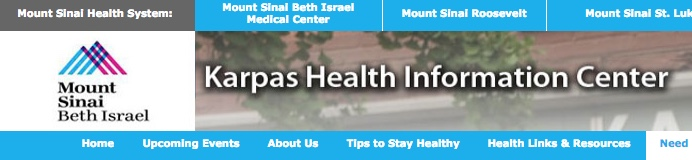 Neighborhood Focus: Karpas Health Programs at Mt. Sinai Beth Israel