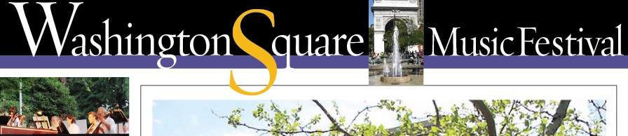61st Annual Washington Square Music Festival Starts June 4